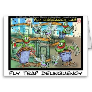 Venus Fly Trap Deliquency Funny Rick London Gifts Greeting Cards