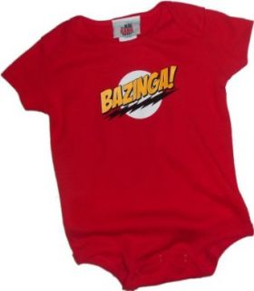 The Big Bang Theory   Bazinga Baby Onesie Infant And Toddler Rompers Clothing