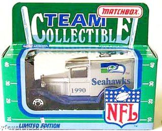 Seattle Seahawks 1990 Matchbox/White Rose NFL Diecast Ford Model A Truck  Sports Fan Toy Vehicles  Sports & Outdoors