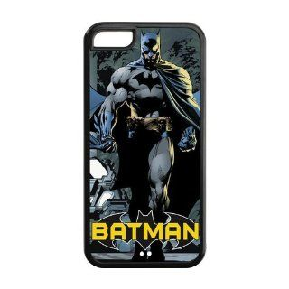 Custom Batman Back Cover Case for iPhone 5C LLCC 158 Cell Phones & Accessories