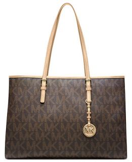 MICHAEL Michael Kors Jet Set Large Signature Travel Tote   Handbags & Accessories