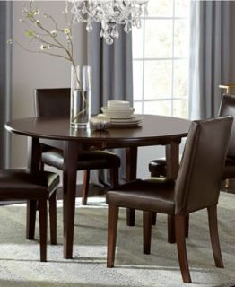 Prescot Dining Room Furniture, 5 Piece Set (Round Table and 4 Slat Back Chairs)   Furniture