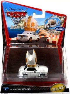 Disney / Pixar CARS 2 Movie 155 Die Cast Car Oversized Vehicle Pope Pinion IV Toys & Games
