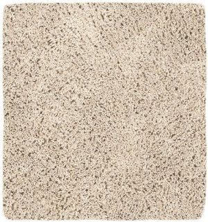 Safavieh Shag Collection SG151 1313 Beige Shag Square Area Rug, 6 Feet 7 Inch Square
