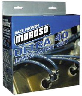 Moroso 73535 Spark Plug Wire Set For Select Chevrolet Vehicles, LS1 Engines Automotive