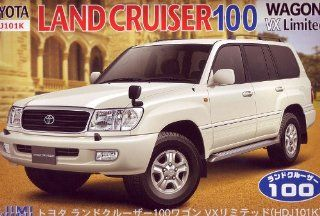 Toyota Land Cruiser 100 (Model Car) Fujimi Inch UpID 137 Toys & Games