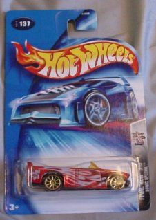 Hot Wheels Final Run 2004 Sonic Special 5/5 RED #137 164 Scale Collectible Die Cast Car Toys & Games
