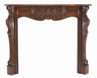Pearl Mantels 134 58 Deauville Unfinished Fireplace Mantel, Interior Opening 58 Inch Wide by 42 Inch High