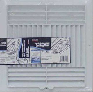 DEFLECTO RGC126 Ceiling Register Air Deflector (3 way; 12  Inch x 6  Inch)