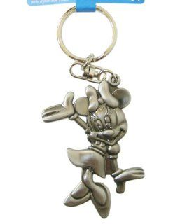 Disney Minnie Mouse Keychain Metal Plate Key Ring Toys & Games