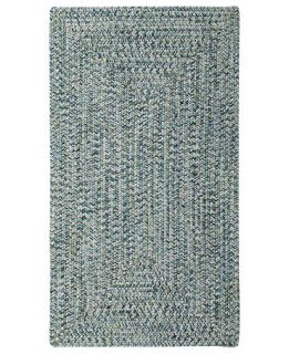 Capel Rugs, Indoor/Outdoor Sea Glass Rectangular Braid 0110 400 Ocean   Lighting & Lamps   For The Home