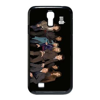 Custom Doctor Who Cover Case for Samsung Galaxy S4 I9500 LS4 123 Cell Phones & Accessories