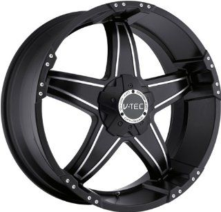 VISION WHEEL   395 wizard   17 Inch Rim x 8.5   (5x114.3) Offset (12) Wheel Finish   black machined face Automotive