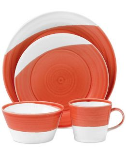 Royal Doulton 1815 Red 4 Piece Place Setting   Casual Dinnerware   Dining & Entertaining