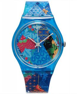 Swatch Unisex Swiss 34.03 Multi Colored Graphic Plastic Strap Watch 34mm GN236   Watches   Jewelry & Watches