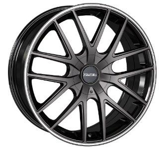 18x8 Touren TR60 (3260) (Black w/ Machined Ring) Wheels/Rims 5x114.3/120 (3260 8804BR) Automotive