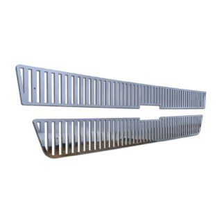 Ferreus Industries   Chevy Silverado HD Vertical Billet Polished Stainless Grille Insert   TRK 109 02 Automotive