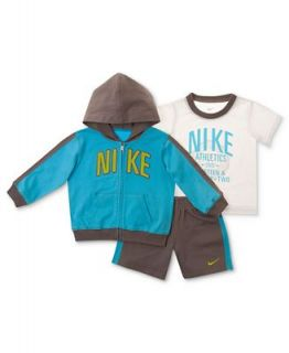Nike Baby Boy 3 Piece Tee, Jacket & Shorts Set   Kids