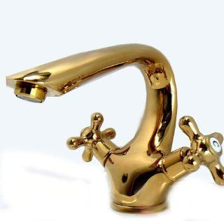 European Inspired Copper Bronze Brass Double Handle Kitchen Bathroom Faucet Tap EMS FR010053   Bathroom Sink Faucets