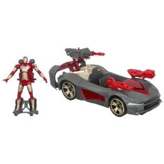 Marvel Iron Man 3 Avengers Initiative Assemblers Battle Vehicle Toys & Games