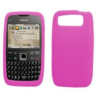 EMPIRE Hot Pink Silicone Skin Case Cover for T Mobile Nokia E73 Mode Cell Phones & Accessories
