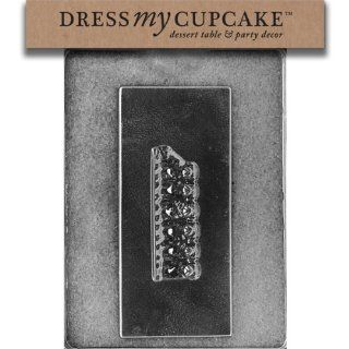Dress My Cupcake Chocolate Candy Mold, Pugs Dogs on a Bar Kitchen & Dining
