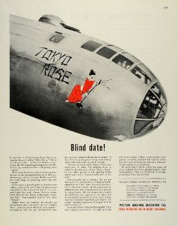 1945 Ad Victor Norden Bombsight Team WWII War Tokyo Rose Calculator Aircraft   Original Print Ad