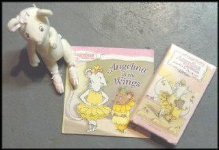 Angelina Ballerina VHS Video, Illustrated Book and Stuffed Toy Movies & TV