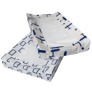 Room 365™ Globetrotter 2pk Changing Pad Cover