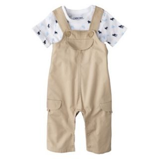 Cherokee® Newborn Infant Boys Short Sleeve