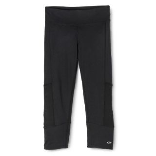 C9 by Champion Womens Premium Must Have Capri Legging With Cuff   Black L