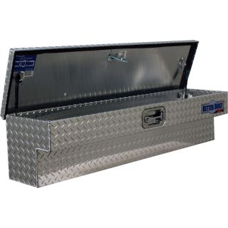 Better Built SEC Series Aluminum Side Mount Truck Box   Diamond Plate, 48 Inch