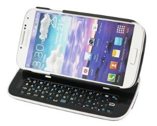 TOTALLY TABLET Sliding Bluetooth Keyboard Hardshell Case for Samsung Galaxy S4 (Black) Cell Phones & Accessories