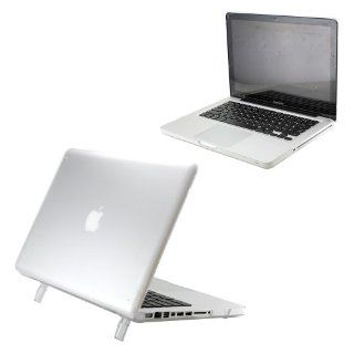 "Hard Shell Matte Transparent Hard Case Cover with Stand for 15"" Model A1286 Aluminum Unibody MacBook Pro (15.4 inch diagonal regular display)   Clear Computers & Accessories"