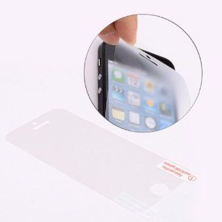 Anti Fingerprint Frosted Clear LCD Screen Protector for Apple iPhone 5 Cell Phones & Accessories
