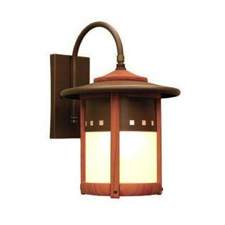 Copper Top Outdoor Wall Lantern by Johnson Art Studio   Furniture