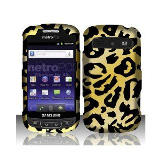 Yellow Cheetah Hard Cover Case for Samsung Admire Vitality SCH R720 Cell Phones & Accessories