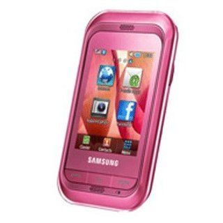 Samsung C3303 / C3303k Champ New Unlocked International Touch Screen Gsm Phone (Pink) Cell Phones & Accessories