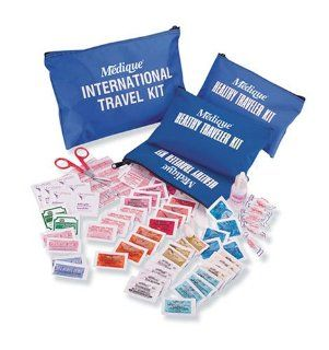 Medique 76301B Domestic Traveler First Aid Kit with Polybags
