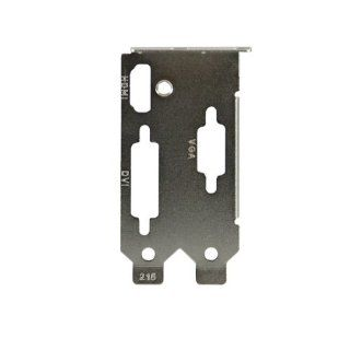 Evga Dual Slot Low Profile Bracket (Dvi Hdmi Vga) For Evga 8400Gs/Gt210/Gt430 , P/N# M020 00 000142  by Evga Computers & Accessories