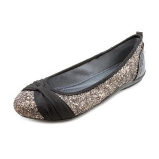 DKNY Women's Sophie Antique Glitter Ballet Flat Shoes