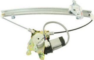 OE Replacement Mitsubishi Lancer Front Driver Side Door Glass Regulator W/Motor (Partslink Number MI1350112) Automotive