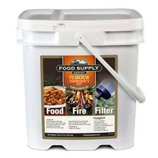 Stansport 90 04329 72 Hour Food Fire Filter Kit  Camping Freeze Dried Food  Sports & Outdoors