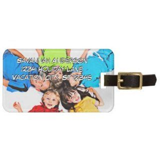 Personalized Photo Luggage Tag   Luggage Racks