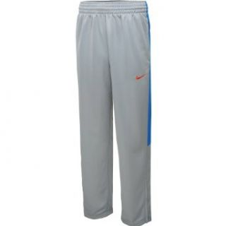 NIKE Men's League Knit Basketball Pants   Size 2xl, Wolf Grey/orange at  Men�s Clothing store Athletic Pants