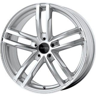 "Liquid Metal Curve Series Silver Wheel with Machined Face (17x7.5""/5x100mm) Automotive"