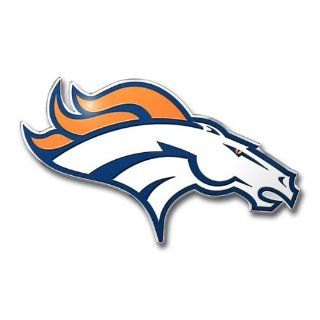NFL Denver Broncos Die Cut Color Automobile Emblem  Automotive Decorative Emblems  Sports & Outdoors