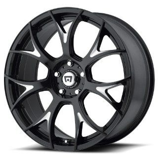 Motegi MR126 20 Black Wheel / Rim 5x4.5 with a 38mm Offset and a 72.6 Hub Bore. Partnumber MR12628512338 Automotive