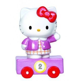 Precious Moments Hello Kitty Train Car Number 2 Figurine   Collectible Figurines