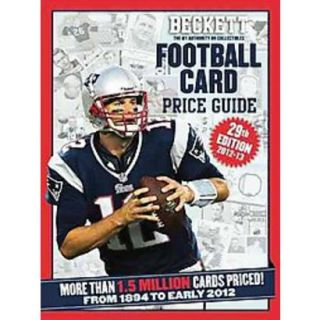 Beckett Football Card Price Guide 2012 13 (Paper